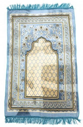 Indigo Praying Carpet 0003-02