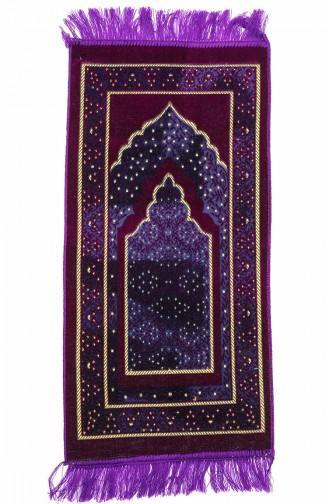 Purple Praying Carpet 0012-03