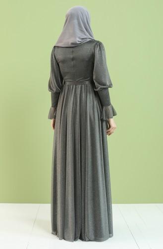 Gray İslamitische Jurk 5367-01