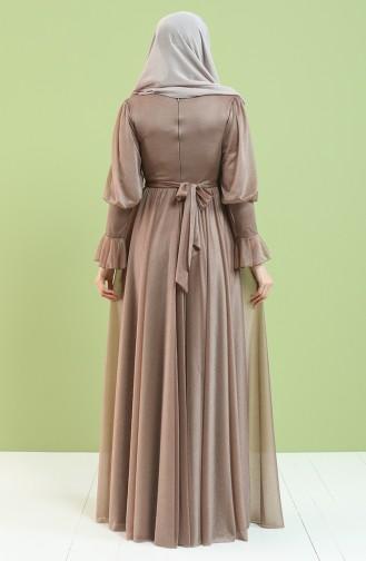 Nerz Hijab-Abendkleider 5367-04