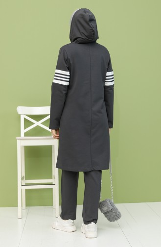 Smoke-Colored Tracksuit 1040S-06