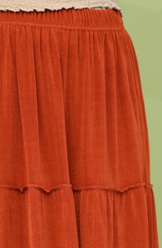 Brick Red Skirt 8225-05