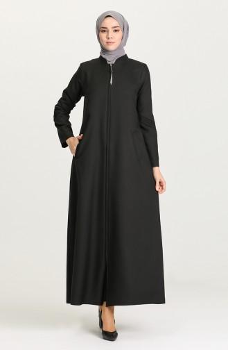 Black Abaya 1579-04