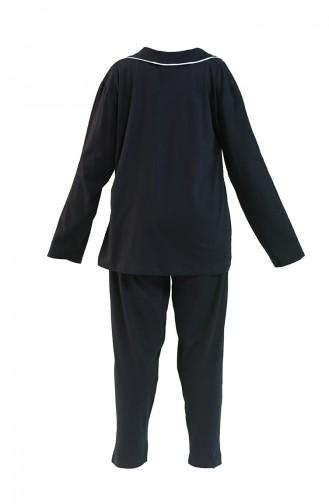 Pyjama Noir 202057-01