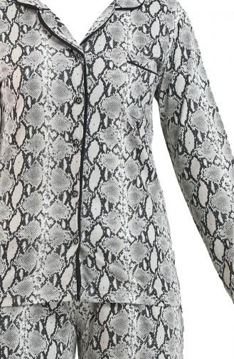 Bayan Pijama Takımı 2720 Leopar
