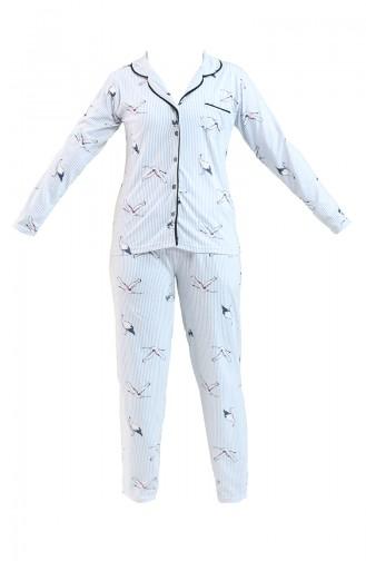 Pyjama Gris 2724