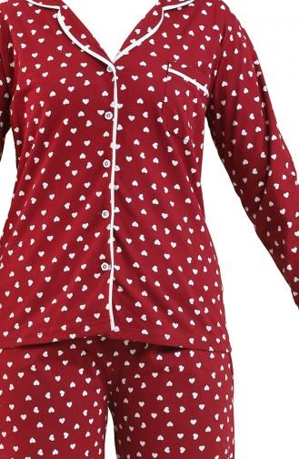 Pyjama Bordeaux 2729