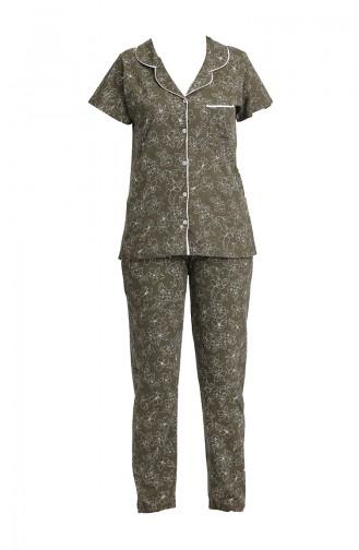 Khaki Pyjama 2805