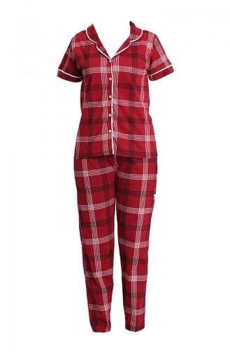 Pyjama Bordeaux 2806