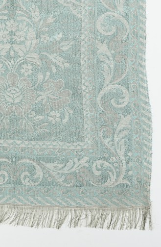 Green Praying Carpet 0417-05