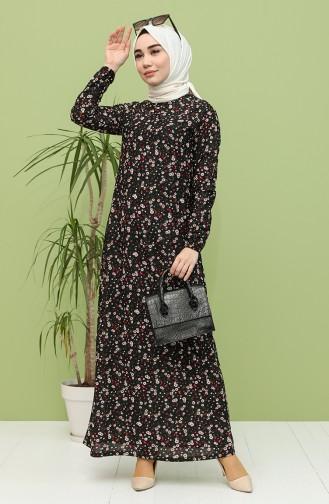 Robe Hijab Noir 1111-01