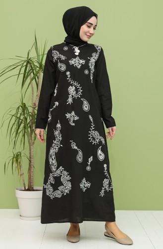 فستان أسود 5004-01