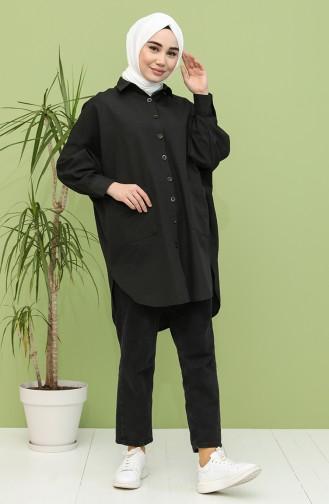 Black Tunics 2533-08