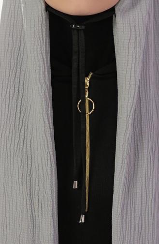 Grau Schal 1000-07