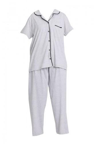 Pyjama Gris 202067-01