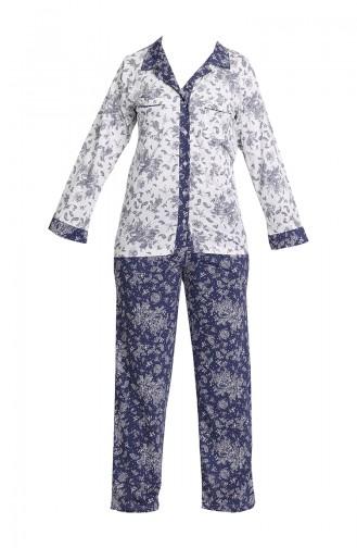 Cepli Pijama Takım 1349-01 Lacivert
