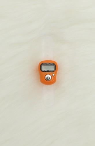 Dijital Yüzük Zikirmatik Tesbih 9977-05 Oranj 9977-05