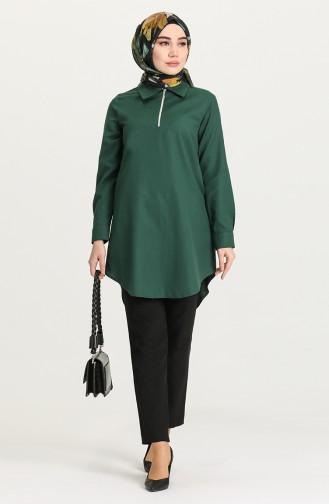 Emerald Green Tunics 5551A-03