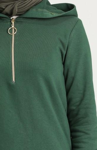 تونيك أخضر داكن 1450-13