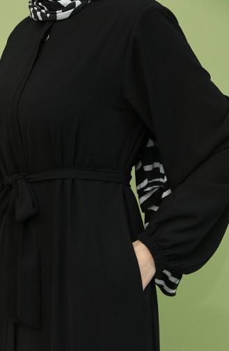 Black Abaya 5084-04