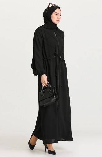 Black Abaya 0148-01