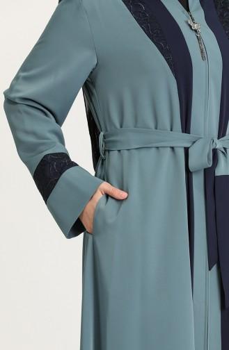 Oil Blue Abaya 2008-03