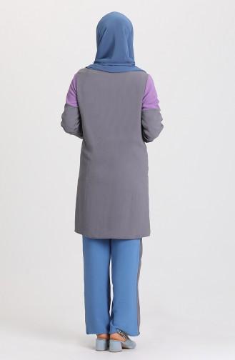 Grau Anzüge 5023-05