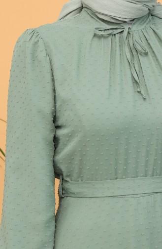 فستان أخضر 4354-03