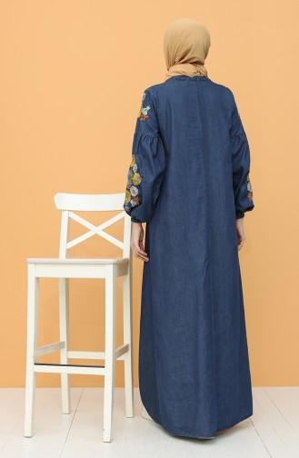 فستان أزرق كحلي 21Y8272-01