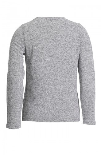 Gray Bodysuit 1777-03
