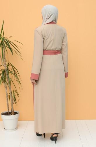 Beige Abaya 0160-01