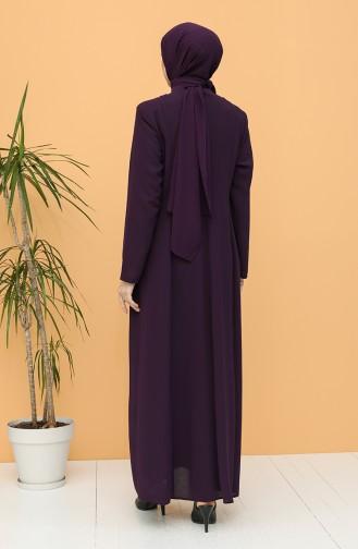 Purple Abaya 2005-04
