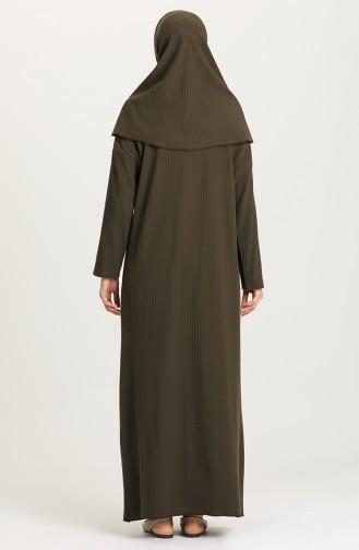 Brown Praying Dress 1146-03