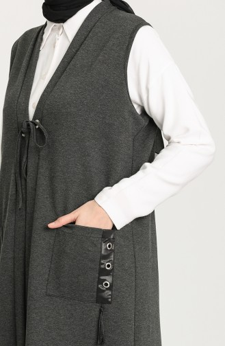 Anthracite Gilet 4741-06