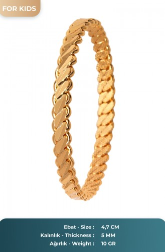 Bracelet Couleur Or 25-60-104-13-20