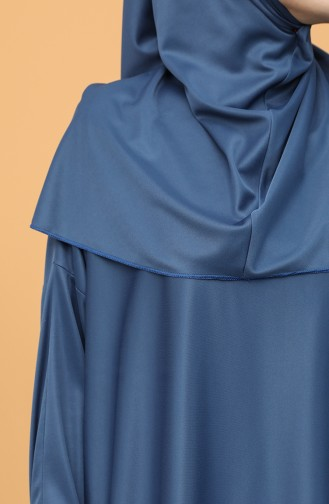 Indigo Prayer Dress 4537-07
