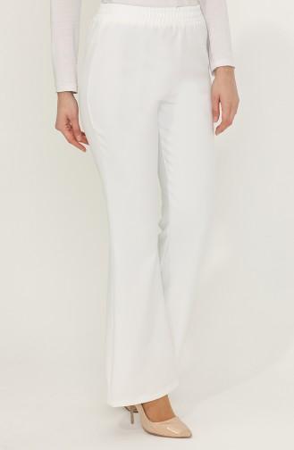Pantalon Blanc 1010011PNT-02
