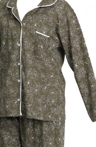 Khaki Pyjama 202055-01