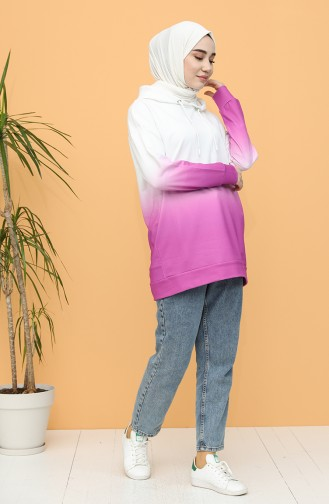 قميص رياضي أرجواني 2290-01