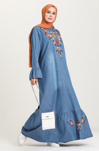 Jeans Blue İslamitische Jurk 21Y8262-01