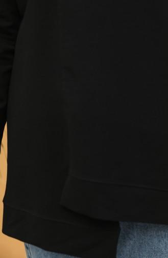 Boğazlı Tunik 2295-03 Siyah