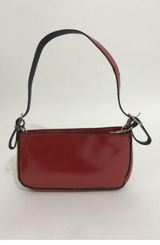 Red Portfolio Hand Bag 000067.KIRMIZI