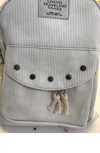 White Back Pack 000092.BEYAZ