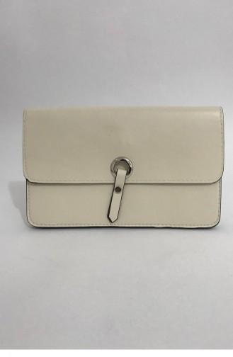 Portföy Omuz Askılı Çanta Bs 000143 Krem