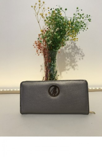 Silver Gray Wallet 000219.GUMUS