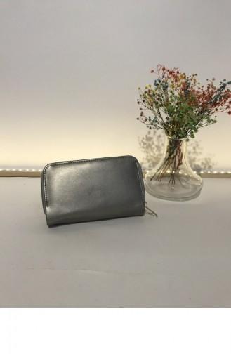 Silver Gray Wallet 000228.GUMUS