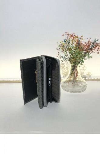Silver Gray Wallet 000230.GUMUS
