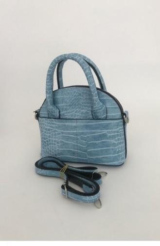 Turquoise Portfolio Hand Bag 000286.TURKUAZ