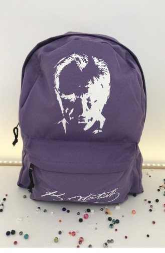 Lilac Back Pack 000406.LILA