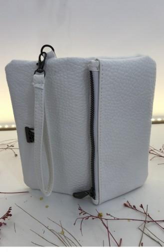 White Wallet 000515.BEYAZ